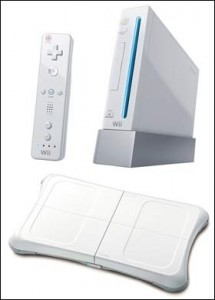 Wii-fit-console
