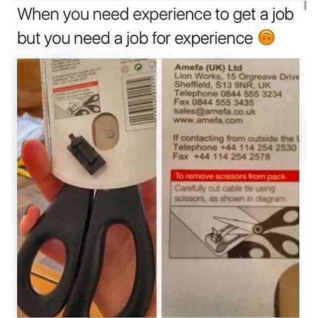 Cercasi giovane lavoratore con meno di 30 anni e ventennale esperienza nel settore.